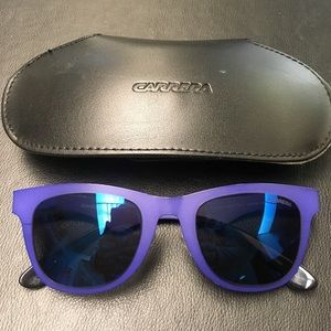 Carrera 6000/MT Sunglasses - Blue /Sky Blue Lens